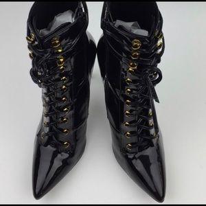 Jeffrey Campbell Shoes - JEFFREY CAMPBELL- Corset Lace Bootie 7.5